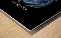 Darian Warrior The Ultimate Power Fractal Art Portrait Wood print