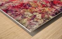 Rambling roses Wood print