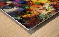 Ridge Wood print