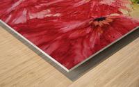 Poppies Galore Wood print