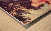 Hieronymus by Rubens Wood print