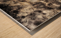 Smoke and mirrors Wood print