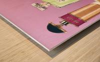 Soy Parfum Wood print