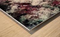 Snowcap Wood print