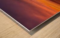 Costa Verde Sunset  Wood print