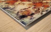 Terracotta tumble Wood print