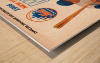 1966 New York Mets Wood print