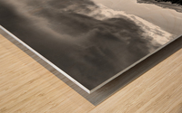 Grand Teton National Park Storm - Jackson Hole - Wyoming Wood print