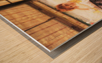 July by Tissot Wood print