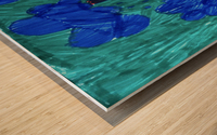 Nola rain Wood print