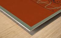 ARTE -7  Wood print