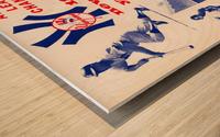 1964 new york yankees american league champions poster Wood print