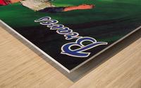 1969 atlanta braves art Wood print