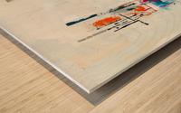 MCM urban VIII Wood print