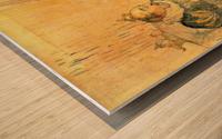 Le Bezigue by Toulouse-Lautrec Wood print