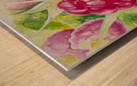 Summer Flavor: Raspberry I Wood print