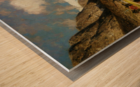 Fjordlandskap Wood print