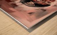 Outgone  Wood print