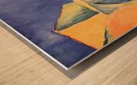 Look in a lane by Macke Wood print