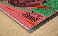 1951 indianapolis 500 mile sweepstakes auto race Wood print