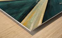 Metropolis I Wood print