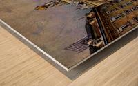 The Bridge of Sighs, Venice Wood print