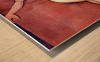 Modigliani - Act on a sofa (Almaiisa) Wood print
