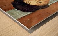 Modigliani - Girl with Hat Wood print
