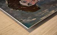 Modigliani - Head of a young woman Wood print