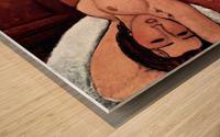 Modigliani - Nude Wood print