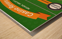 Earn Money From Online Casino Wood print