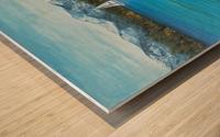 Sand Harbor Wood print