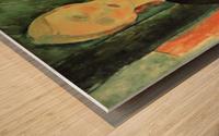 Modigliani - Sitting girl Wood print