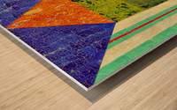 Blue Vein Wood print