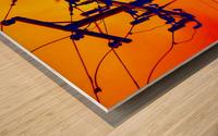CHESTER Wood print