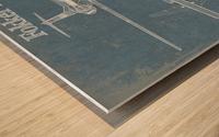 fokker Wood print