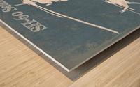 seahawk Wood print