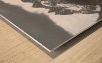 Three Wood print