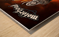 Motorhead Wood print