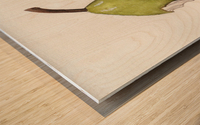 Up Pear-ass Wood print