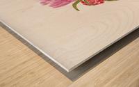 Flower heel Wood print