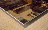 La Barriere de Clichy Wood print