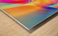 4th Dimension -Abstract Art XVII Wood print