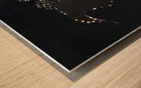 Dark Continent Diara Wood print