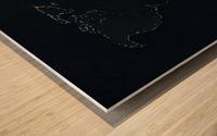 Dark Continent Lallia Wood print