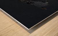Dark Continent Jardia Wood print