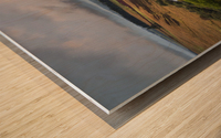 The Cray Reservoir in the Brecon Beacons National Park Wood print