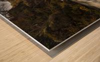 Elan valley watercourse Wood print