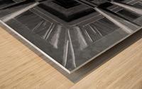 oben oder unten  Wood print