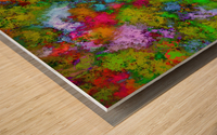 Above the tree canopy Wood print
